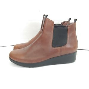 Cole Haan grand Os waterproof wedge booties